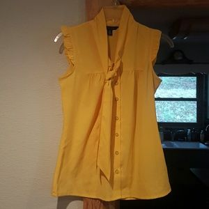 Tommy Hilfiger Yellow Summer Top